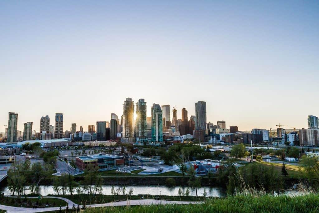 The city of Calgary 1